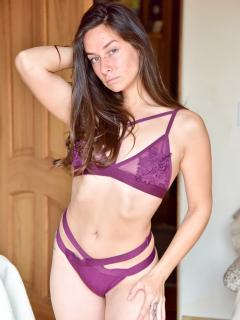 Strappy Purple Pleasure