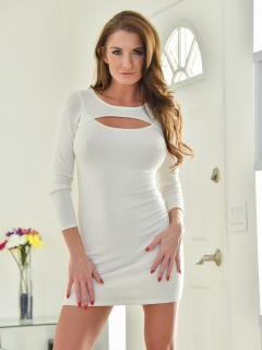 Tight White Dress